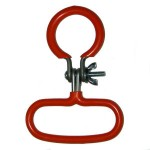 Red Carboy Carrying Handle - for both full and half size glass Italian carboys