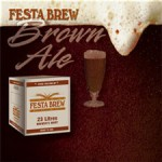 Festa Brew Brown Ale premium all-grain beer kit