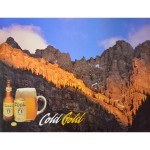 Coors Gold - Canadian Rockies poster