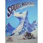 Spuds Mackenzie Mountain Poster