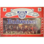 Vintage Budweiser Clydesdales poster