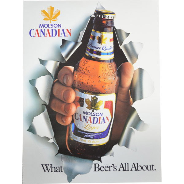Molson Canadian What Beer S All About Grapes To Glass