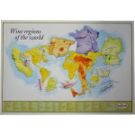 Wine Regions of the World poster