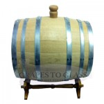 Oak Barrel 23L side view