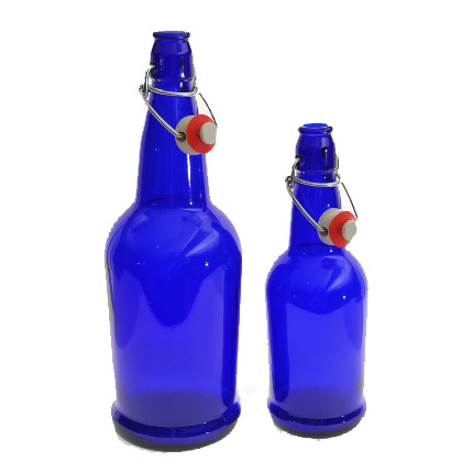 Ez Cap Swing Top Bottles Blue 12 Pack Grapes To Glass