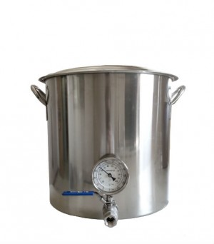 kettle- 32Q with valve & thermometer
